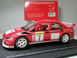 AUTOart MITSUBISHI EVO #7 DELECOUR, MONTE CARLO RALLY 1:32 Scale SLOT CAR #13012