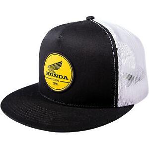 Factory Effex Honda Bold Snapback Hat Black/White