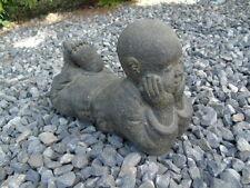 bouddha,statue en pierre patinée, nouveau ,bouddha sholin