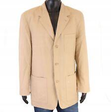 *S Camel Active Mens Blazer Linen Jacket size 50