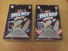 1990-91 Upper Deck Hockey Factory Sealed Boxes LOW Series & HIGH Series