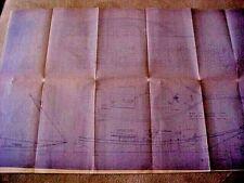"""NELLIE"" OYSTER SLOOP, Mystic Seaport Historical Assoc, blueprint, E.Schock 1 pp"