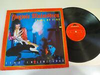 "Yngwie J Malmsteen Trial by Fire Spain Edition 1989 - LP Vinilo 12"" VG/VG"