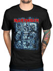 Official Iron Maiden Nine Eddies T-Shirt Book Of Souls Beast Band Album Rock