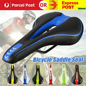 Road Mountain MTB Bike Saddle Seat Bicycle Sporty Cycling Comfort Cushion Pad AU