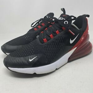 Nike Air Max 270 Men's 13 Bred Black University Red Athletic Shoes AH8050-022