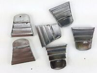 "6 PACK LOT 1"" RIBBED STEEL WEDGES FOR WOODEN HAMMER HANDLES SLEDGE DRILLING AXE"