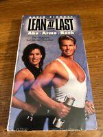 Lean At Last VHS VCR Video Tape Movie David Sinnott New / Sealed