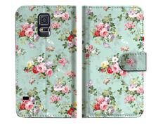 Royal Garden Wallet Case Cover For Samsung Galaxy S5 - A023