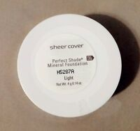 Sheer Cover Perfect Shade Mineral Foundation LIGHT​ ~90 DAY~ 4g Powder SEALED!!