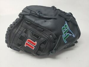 "Nokona Baseball Glove TN1050 10.5"" Right Hand Throw Genuine Leather Black RHT"