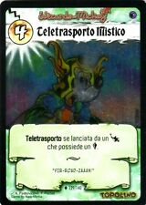 WIZARDS OF MICKEY Teletrasporto Mistico 129/140 FOIL ETA OSCURA ITA NEAR MINT