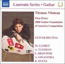 Thomas Viloteau: Guitar Recital, , Good