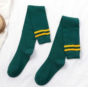 2pairs Women Girls Knit Extra Long Boot Socks Over Knee Thigh High Warm Stocking