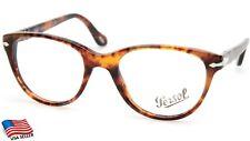NEW PERSOL 3036-V 108 Caffe Tortoise EYEGLASSES GLASSES FRAME 50-19-140mm Italy