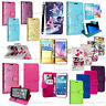 Book Wallet Flip Leather Protective Stand Case Cover For ZTE Blade A110 Phone