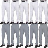 Rawlings Youth Baseball Plated Piped Pants 100% Polyester YPRO150P Long Pant