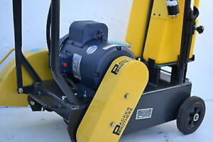 """NEW Packer Brothers 16"""" walk-behind concrete saw Electric cement saw"""