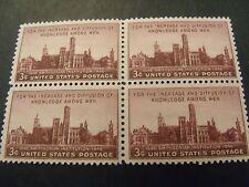 Us Postage Stamps 1946 Smithsonian Institution Scott 943 4- 3 Cent