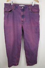 Levi's Mens Sz 40x30 Purple 560 Comfort Fit Jeans