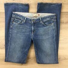 Paige Women's Jeans Hollywood Hills Boot Cut Size 31 Actual W35 L35 (BK18)