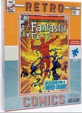 Retro Comics Fantastic Four  1000 Piece Jigsaw Puzzle