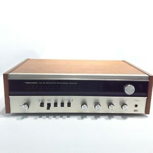 REALISTIC STA-46 Solid State AM/FM Vintage Stereo Receiver Made in Japan Silver