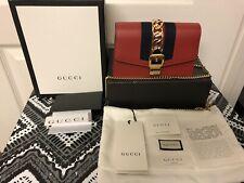 Gucci Sylvie Mini Leather Bag