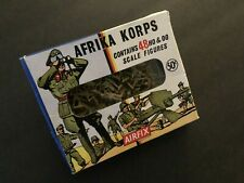 Vintage AIRFIX WWII Afrika Korps: 48 HO & OO scale figures. 96 items. EXCELLENT!