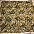 "Remarkable Pc. Antique 19c. Wool Ingrain Scotch Carpet Rug Center Seam 70""x 66"""