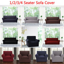 Elastic Sofa Slipcover 2 Pieces Furniture Protector Chair Loveseat Cover for Pet