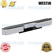 Westin For Dodge/Ford/Chevy Sure Rear Bumper Silver Powder Coated Steel 20022