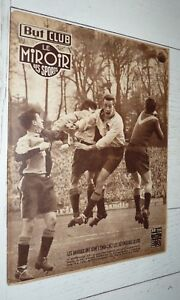 BUT & CLUB MIROIR SPORTS #333 1952 FOOTBALL HAVRE HAC-LOSC BOXE TOUPE RUGBY