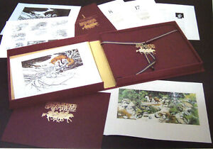 Lot (17) Wildlife Art signed Bev Doolittle WHERE SILENCE SPEAKS Limited Edition!