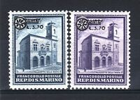 """SAINT MARIN STAMP 184 / 185 """" 2 TIMBRES SURCHARGES 1934 """" NEUFS xx TTB  P841"""