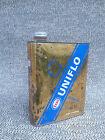 Ancien bidon d'huile Esso Uniflo vide déco de garage vintage french antique
