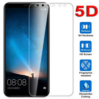 9H 5D Curved Full Screen Protector HD Tempered Glass Film for Huawei Mate10 Lite