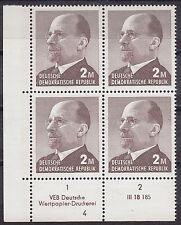 Briefmarken DDR MiNr 1482 b Druckvermerk DV  DWD 4 Ulbricht **