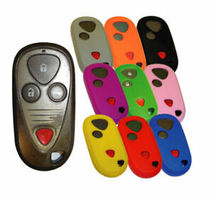 Acura Keyless Remote Rubber Fob Cover CL MDX RL RSX TL TSX 01 02 03 04 06 08