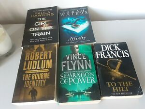 Paperback crime thriller fiction books bundle