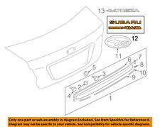 SUBARU OEM 12-15 Impreza Trunk Lid-Emblem Badge Nameplate 93079FJ050