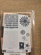 Stampin Up: Looks Like Spring . Retired. Excellent Condition Scrapbooking