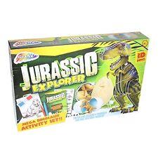Grafix jurassique explorer mega 3D dinosaure activité set