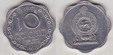 SRI LANKA   10 CENTS 1978   PR; NEUF