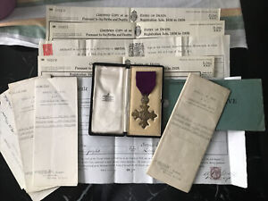 Alexander Moir - Cased OBE Medal (type I) And Papers - Officer - British Empire