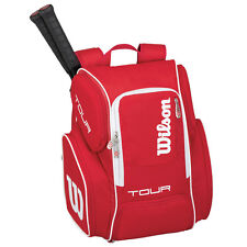 WILSON V TOUR RED  LARGE TENNIS BACKPACK  2017 , IDEAL FOR TRAVEL GYM , PADEL