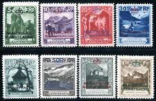 LIECHTENSTEIN DIENST 1932 1-8 * SATZ 480€(S1033