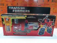 TRANSFORMERS G1 ORIGINAL BOXED  POWERMASTER OPTIMUS PRIME - VINTAGE