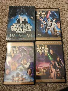 Star Wars Limited Edition Original Theatrical Trilogy DVD Box Set IV V VI