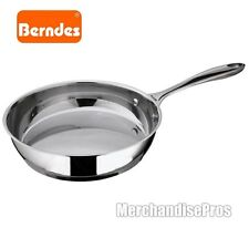 "8"" BERNDES STAINLESS STEEL INDUCTION SKILLET PAN DESIGNED IN GERMANY  NEW!"